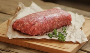 Free Range Ground Beef (Fresh)- Code#: MP1822
