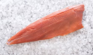 OceanWise & Wild Coho Salmon - Whole Side (Frozen)- Code#: MP695