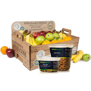 Organic Large Office Fruit & Snack Box- Code#: OFFICE07