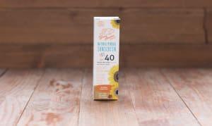 Organic Kids SPF40 Sunscreen- Code#: PC0354