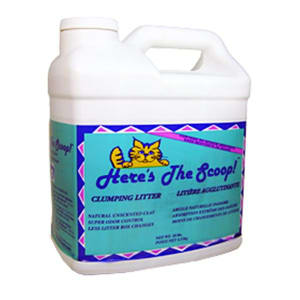 Here's The Scoop Clumping Cat Litter- Code#: PE3502