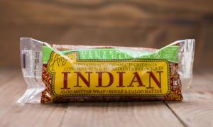 Gluten Free Indian Aloo Mattar Wrap (Frozen)- Code#: PM297