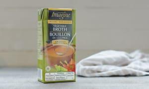 Organic Low Sodium Vegetable Broth- Code#: PM463