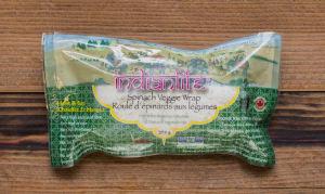 Spinach Wrap w/ Mixed Veggies & Wild Rice (Frozen)- Code#: PM544