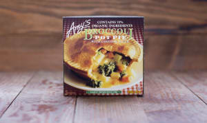 Organic Broccoli Pot Pie (Frozen)- Code#: PM610