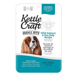 Salmon & Sea Kelp Small Bite Dog Treats- Code#: PT038