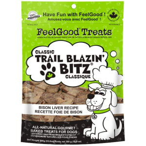 Classic trail Blazin' Bitz - Bison Liver Dog Treats- Code#: PT085