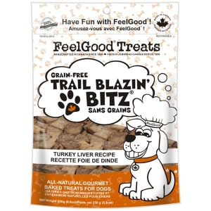 Grain Free Trail Blazin' Bitz - Turkey Liver Dog Treats- Code#: PT087