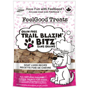 Grain Free Trail Blazin' Bitz - Goat Liver Dog Treats- Code#: PT089