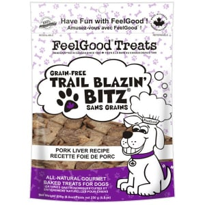 Grain Free Trail Blazin' Bitz - Pork Liver Dog Treats- Code#: PT091