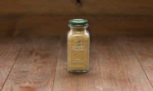Organic Ground Ginger Root in Glass Bottle- Code#: SA0138