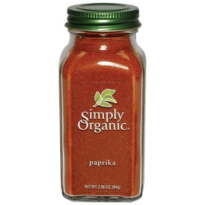 Organic Paprika in Glass Bottle- Code#: SA0143
