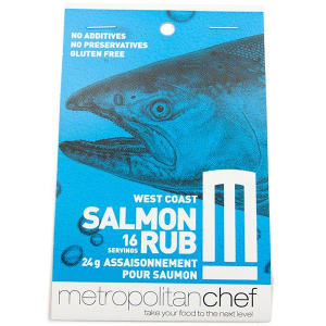West Coast Salmon Rub- Code#: SA0203
