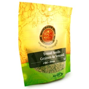 Organic Fennel Seeds- Code#: SA3332