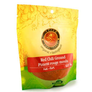 Organic Ground Red Chili- Code#: SA3334