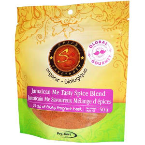 Organic Jamaican Me Tasty Spice Blend- Code#: SA3351