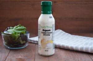 Organic Creamy Caesar Dressing- Code#: SA434