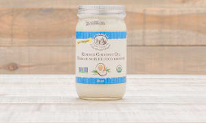 Organic Refined Coconut Oil- Code#: SA511