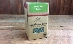 Organic Sweet Basil- Code#: SA8006