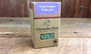 Organic Greek Oregano- Code#: SA8011