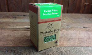 Organic Parsley Flakes- Code#: SA8012