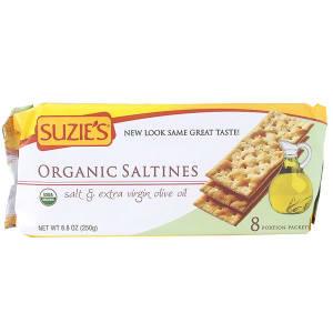 Organic Saltines - Salt & Extra Virgin Olive Oil- Code#: SN0044