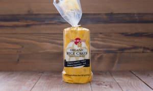 Organic Sesame Brown Rice Cakes, Salted- Code#: SN304