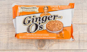 Newman O's Ginger Creme Cookies- Code#: SN4902