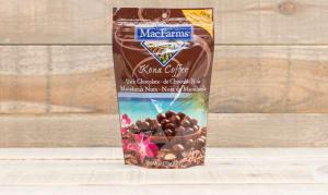 Kona Coffee Dark Chocolate Macadamias- Code#: SN534