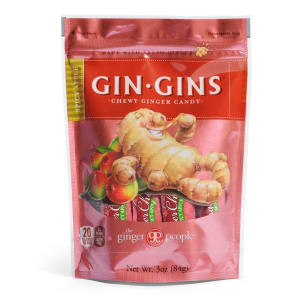 Gin Gins® Spicy Apple Chewy Ginger Candy- Code#: SN7207