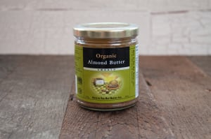 Organic Almond Butter, Smooth- Code#: SP0001