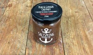 Pear & Ginger Chutney- Code#: SP0045