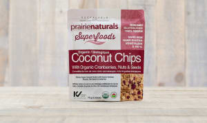 Organic Coconut Chips with Cranberries, Nuts & Seeds- Code#: VT0024