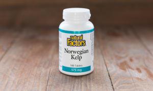 Norwegian Kelp 575 mg- Code#: VT1025
