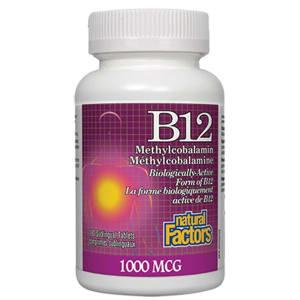 B12 Methylcobalamin 1000mcg- Code#: VT1080