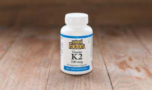 Vitamin K2 100mcg- Code#: VT1095