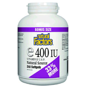 Vitamin E 400 IU/UI BONUS- Code#: VT1110