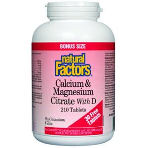 Calcium & Magnesium Citrate with Vitamin D BONUS- Code#: VT1111