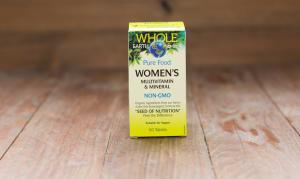 Whole Earth & Sea Women's Multivitamin & Mineral- Code#: VT1118