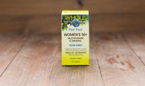 Whole Earth & Sea Women's 50+ Multivitamin & Mineral- Code#: VT1119