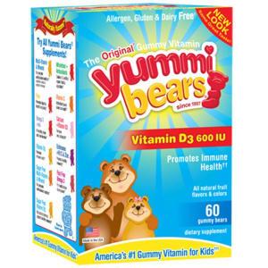 Yummi Bears Vitamin D3- Code#: VT1642