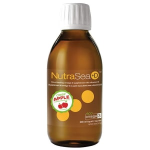 NutraSea +D Omega3 : Apple Flavour- Code#: VT1936
