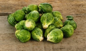 Organic Brussels Sprouts- Code#: PR100054NPO