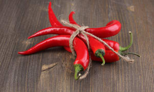 Local Peppers, Cayenne... 4-5 medium peppers - Code#: PR147795LPN