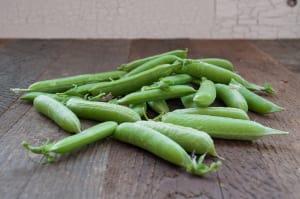 Organic Peas, Sugar Snap- Code#: PR100213NPO