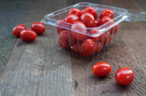 Local Organic Tomatoes, Grape Cherry - BC/MEX- Code#: PR100902LCO