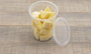 Organic Pineapple, Chunks, Fresh Cut- Code#: PR217001NCO