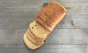 Organic 100%  Whole Wheat Bread- Code#: BR0302