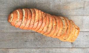 Artisan Seeded Hearth Loaf - Sliced- Code#: BR0649