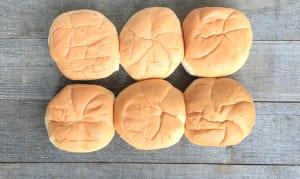 Portofino - Brioche Burger Buns 1/2 Dozen- Code#: BR0696